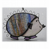 Hedgehog Suncatcher Stained Glass Handmade 053 or 054 Right