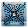 Star Burst Suncatcher Stained Glass Handmade 007