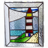 Lighthouse Suncatcher Stained Glass Picture 013