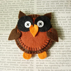 *** please don't buy!!! *** owl brooch