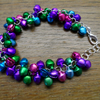 Gorgeous Mini Christmas Bells Bracelet, Quirky and Fun, Gift Present