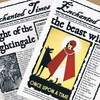 Enchanted Times back issues, fictional fairytale newspaper zine, Red Riding Hood