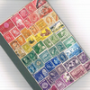 CUSTOM LISTING FOR LIZDYSON Recycled Rainbow Notebook, A5, plain pages