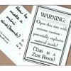 ZINE BOMB - a double-sided mini zine for guerilla craftivists!