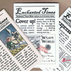 Enchanted Times #3.5 - set of fairy tale mini-zines plus artistamp mini-sheet!