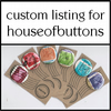 CUSTOM LISTING FOR HOUSEOFBUTTONS - 4 Lucky Dip Machin Badges