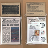 SAMPLER GIFT SET Enchanted Times Mini - miniature fairy tale newspaper & more!