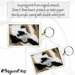 Tiger Animal Keyring HUNTER Wildlife