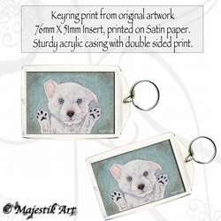 West Higland Terrier Keyring LET ME OUT Dog Puppy Pet Animal