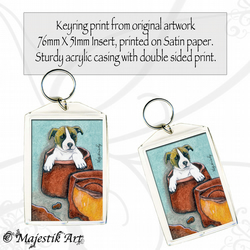 Jack Russell Keyring ROLO Pet Animal Dog Puppy