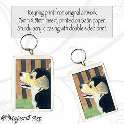 Corgi Dog Keyring WHAT ME? Puppy Animal