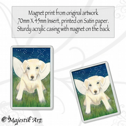 Fantasy Magnet PUPPY POWER Puppy Dog Animal VK