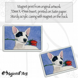 English Bull Terrier Magnet FOR YOU Dog Animal VK