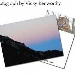 Mountain ACEO Print Photography by VK