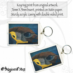 Eagle Keyring STAR KEEPER Wildlife