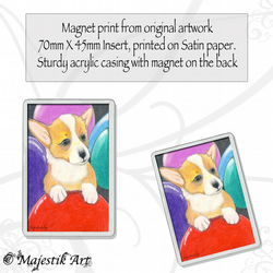 Corgi Puppy Magnet MY PARTY Dog Animal VK