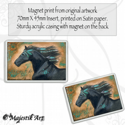 Horse Magnet SPIRIT STEED Wildlife VK