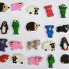 Fimo Animal Magnets Fridge Magnets Cute Animal Fridge Magnets (Two)