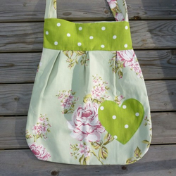 funky floral shoulder bag
