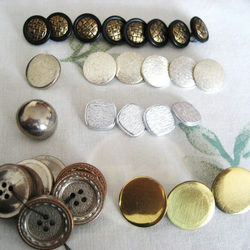 vintage buttons - 2 different packs