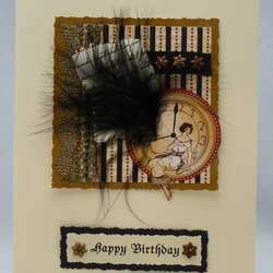 Handmade Card - Birthday Girl