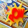 POW! Comic Inspired Acrylic Necklace