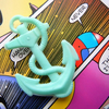 MiNtY KiTsCh AnChOr BrOoCh ~ A vintage re-creation!
