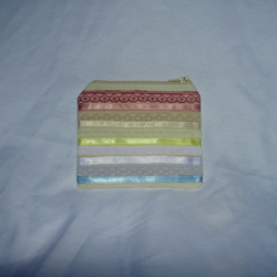 SALE - Purse - Lace and ribbon