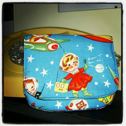 Rocket Rascal purse
