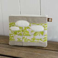 Queen Annes Lace and Nettles Purse
