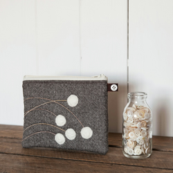 White Berries Purse