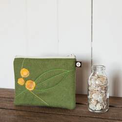 Yellow Berry Purse