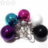 Christmas Bauble Earrings - choose your colour!