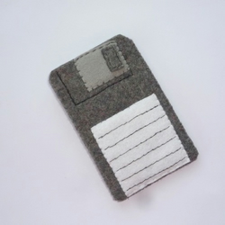 iPod iPhone Pouch Case of Floppy Disc