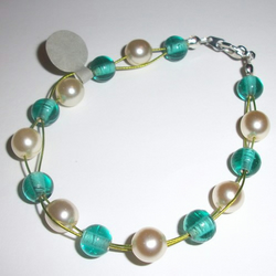 SALE - Summer Feelings -  Beaded Bracelet
