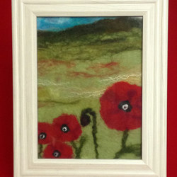 Beautiful picture of Poppies - a perfect Mothers Day gift.