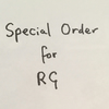 Special Order for RG
