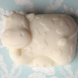 Murielle the Cow Baby Soap