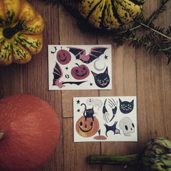 Temporary Tattoos for Halloween
