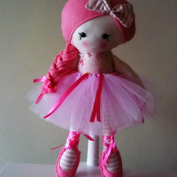 Hand Made Ballerina Doll with Tutu