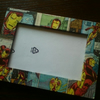 IRON MAN COMIC BOOK PICTURE FRAME