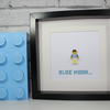 MANCHESTER CITY - FRAMED CUSTOM LEGO MINIFIGURE - AWESOME GIFT IDEA