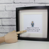 DUMBLEDORE - Framed minifigure - Harry Potter - wizard - awesome art