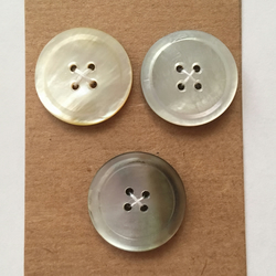 Set of 3 Vintage Buttons