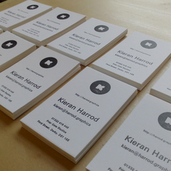 Letterpress business cards Custom Order