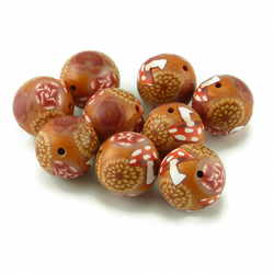 Polymer Clay Millefiori Beads Nature Designs