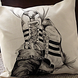'Put your feet up' Cushion