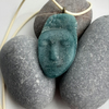 Sleeping Angel - Cast Recycled Glass Pendant