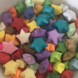 Origami stars full of inspirations