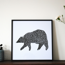 'Bear' Digital Print